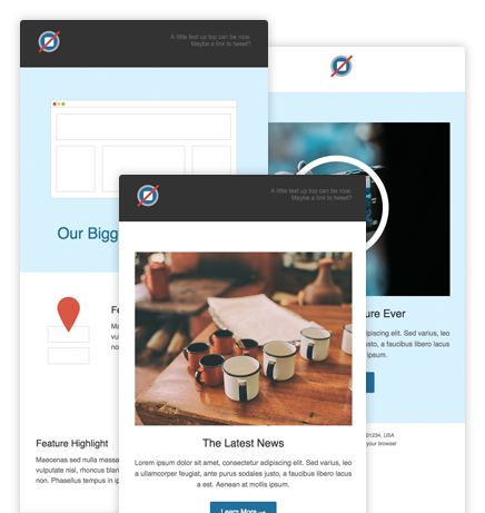 The ResponsiveAware Approach Optimized Design Effort With Great - Litmus free email templates